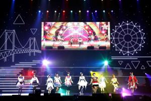 2ndライブを行った虹ヶ咲学園スクールアイドル同好会(C)プロジェクトラブライブ!虹ヶ咲学園スクールアイドル同好会