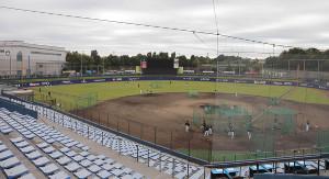 日本ハムのファーム本拠地・鎌ヶ谷スタジアム
