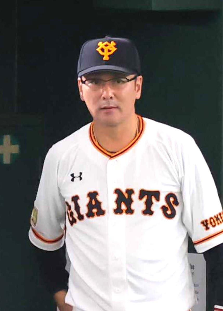 虫垂炎と診断された巨人・元木ヘッドコーチ