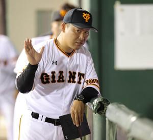 巨人の2軍監督代行を務めることになった同・村田修一2軍野手総合コーチ