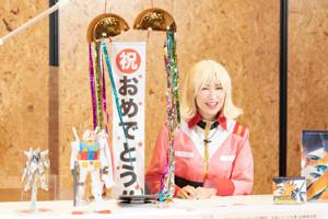 LINE LIVEを開催した森口博子