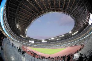 来夏に東京五輪が開催される国立競技場