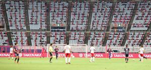 入場制限が緩和されて行われたC大阪―鹿島戦