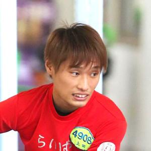 予選トップ通過を果たした上田