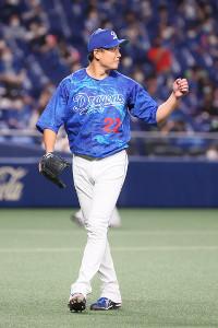 2安打完封で6勝目を挙げた中日・大野雄大