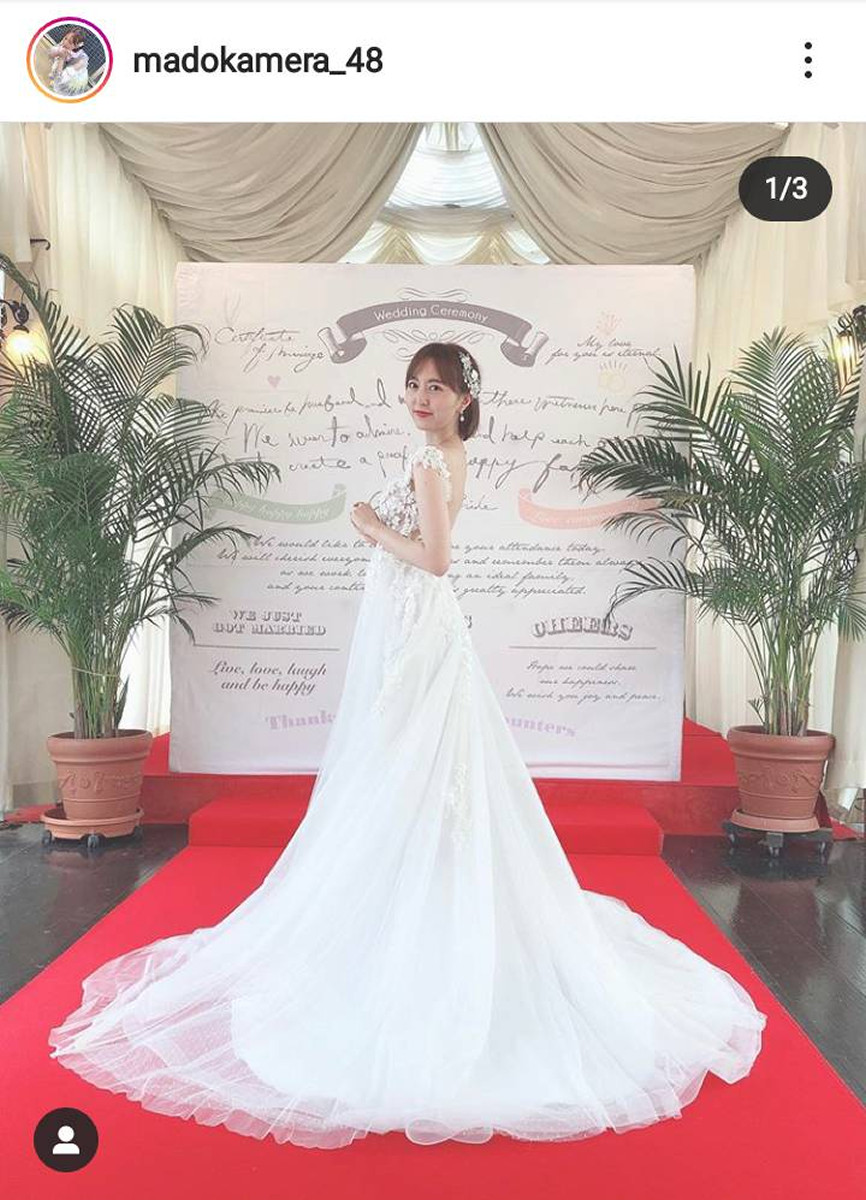HKT48森保まどかのウエディングドレス姿が「女神降臨」「ゼクシィの表紙」