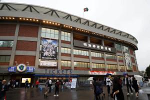 ヤクルト―阪神戦が行われる神宮球場