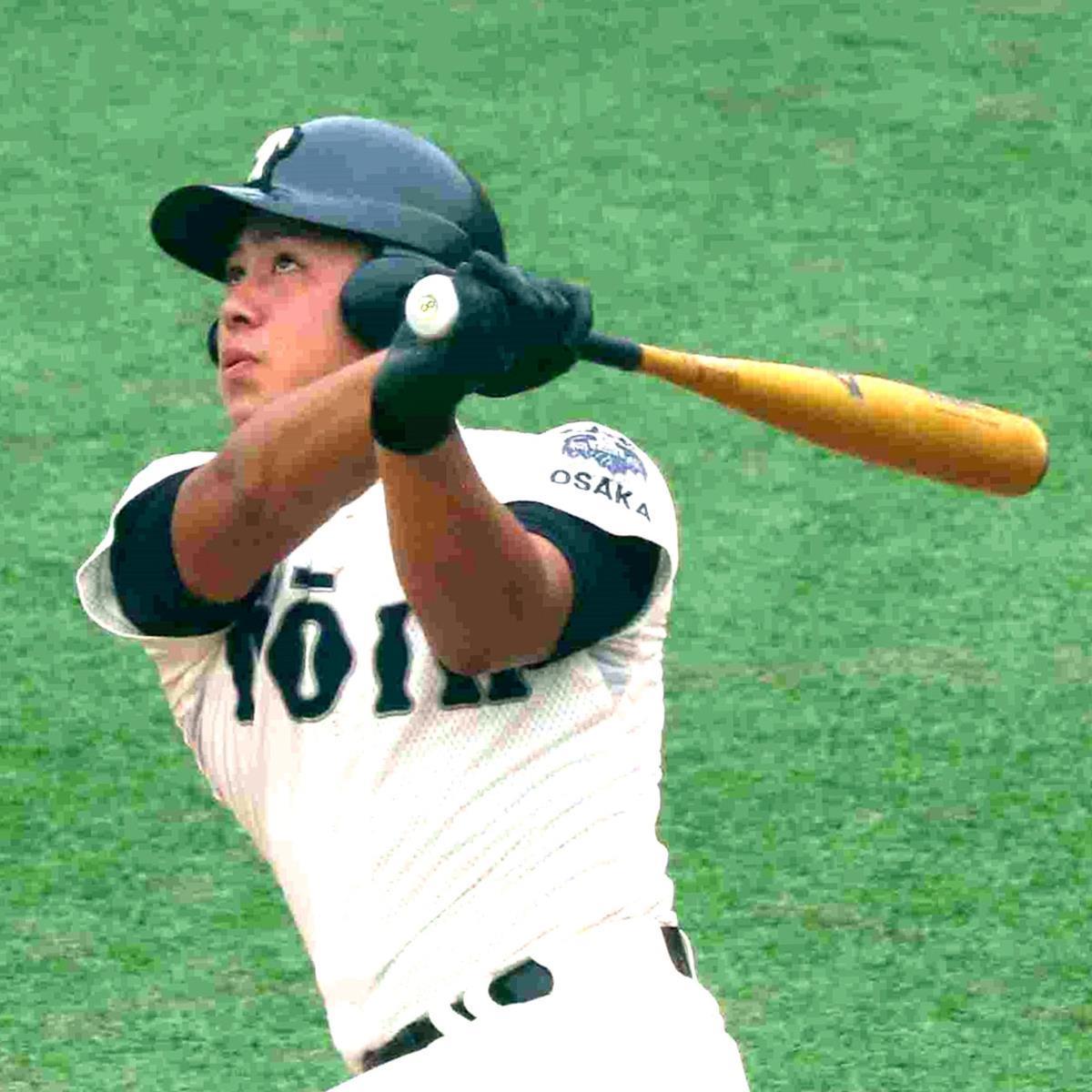 3試合連続本塁打の活躍を見せた大阪桐蔭・池田陵真
