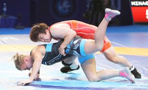 昨年の世界選手権で東京五輪代表を決めた皆川