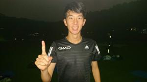 早大競技会5000メートルで自己ベストを更新したGMOの近藤秀一。1万27分台、ニューイヤー駅伝優勝を目標に掲げる