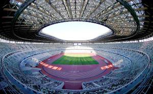 東京五輪の開閉会式などが行われる国立競技場