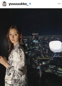新木優子のインスタグラム(@yuuuuukko_)より