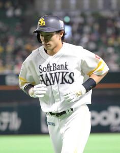 9回無死一塁、二ゴロ併殺打に倒れた柳田