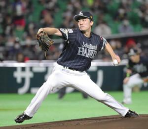 5回無失点と好投したソフトバンク・和田