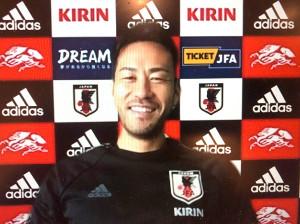 オンライン会見に出席した日本代表DF吉田麻也