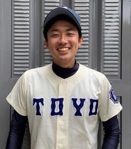 先制の適時三塁打を放った東洋大・山崎