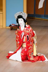「京人形」で井筒姫を演じる坂東新悟(松竹提供)