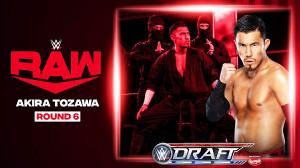 ドラフト6巡目の戸澤陽((c)2020 WWE, Inc. All Rights Reserved.)