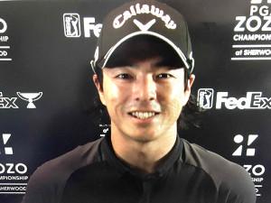 ZOZOチャンピオンシップのオンライン会見に出席した石川遼