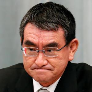 河野太郎氏(ロイター)