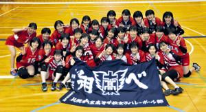 初の4強進出を目指す札幌東商チーム