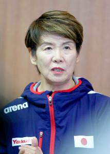 井村雅代ヘッドコーチ