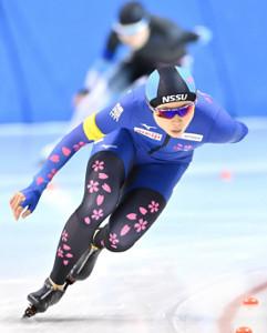 女子3000メートルで1位となった高木美帆(代表撮影)