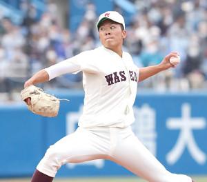 東京六大学で活躍した早大・早川隆久