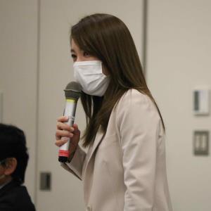 設立総会で小さな格闘技団体への支援を訴えた今井絵理子議員