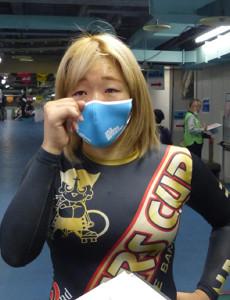 ガールズグランプリ切符の最後の一枚をつかんだ鈴木美教は感激の涙を流した