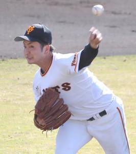 今季1軍初登板で好投の横川凱が先発