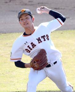 高卒2年目左腕の横川凱が5回2失点