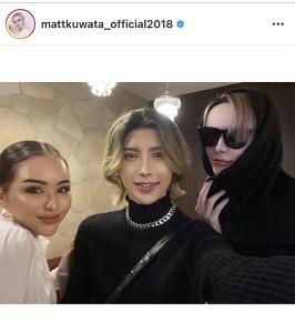 Mattのインスタグラム(@mattkuwata_official2018)より