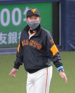 原辰徳監督(カメラ・義村 治子)