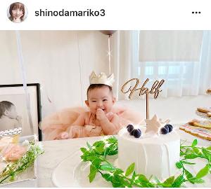 篠田麻里子のインスタグラム(@shinodamariko3)より