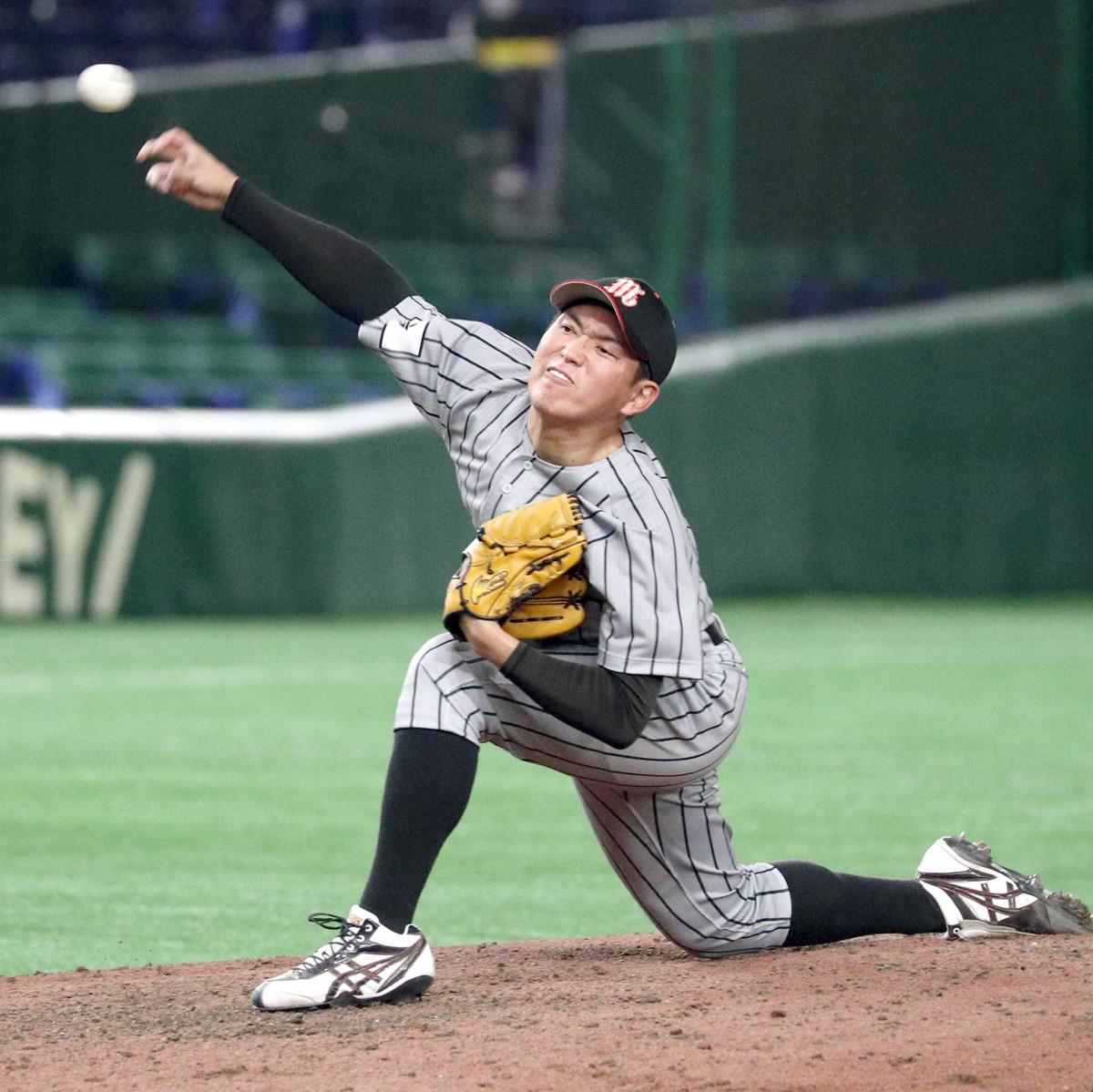 都市対抗野球】来年ドラフト候補の三菱自動車倉敷オーシャンズ・広畑敦也が自己最速154キロ「速すぎるかな」JFE東日本の連覇阻止 : スポーツ報知