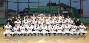 21世紀枠京都府推薦校に選ばれた綾部の選手たち