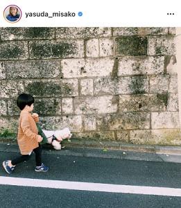 安田美沙子のインスタグラム(@yasuda_misako)より