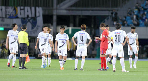 目の前で川崎に優勝を決められたG大阪イレブン