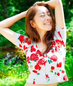 DVD「天香桂花」をリリースする熊切あさ美