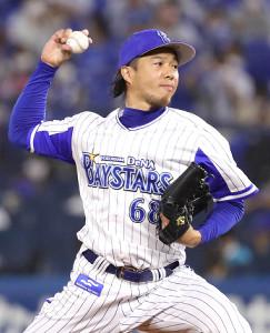 DeNA・藤岡好明投手