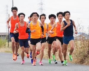 箱根駅伝に向けてハーフマラソン練習で好タイムをマークした東洋大(写真提供=東洋大陸上競技部)