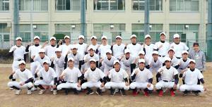 大阪府の21世紀枠推薦校となった山田の選手たち
