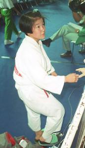 17歳で臨んだバルセロナ五輪で銀メダルを獲得した田村亮子