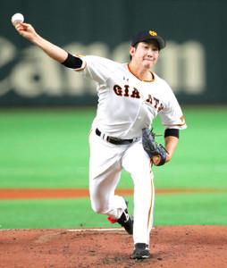 今季、14勝を挙げ、最多勝を獲得した菅野