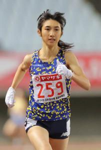 女子5000mで優勝し、五輪を内定させた田中希実