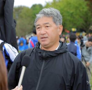 東京国際大の大志田秀次監督