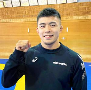 東京五輪で金メダルを狙う文田健一郎(ミキハウス提供)