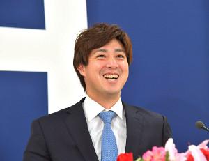現状維持の1億2000万円でサインした広島・野村祐輔