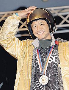 昨年のGPで初優勝した石野貴之。今年は出場権を得られず、連覇に挑めなかった